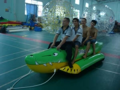 Inflatable Crocodile Boat