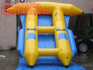 4 Seats Inflatable Flying Fish Boat