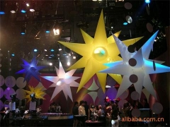 Custom LED SHOW Inflatable Star
