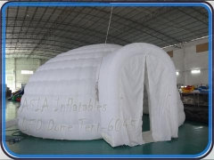 Inflatable Dome Tent with Tunnels