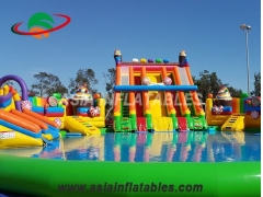 Inflatable Rocket Water Park