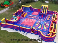 Custom Bouncer Trampoline  Inflatable Theme Park Inflatable Theme Park Manufacturers