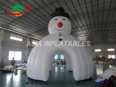 Buy Inflatable Christmas Snowman Dome