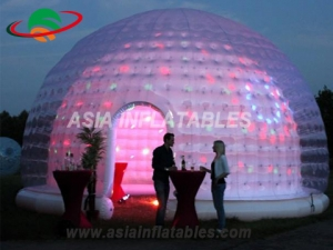 Inflatable Bubble Tent with tunnel