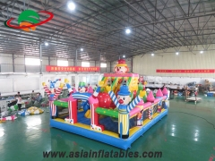 Inflatable Clown Playground
