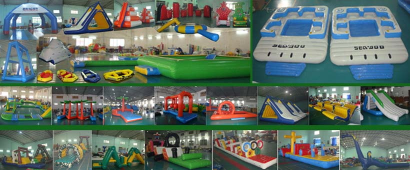 Inflatable Water Parks Rentals